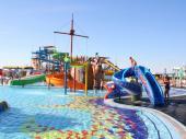 Пиратский корабль в детском бассейне