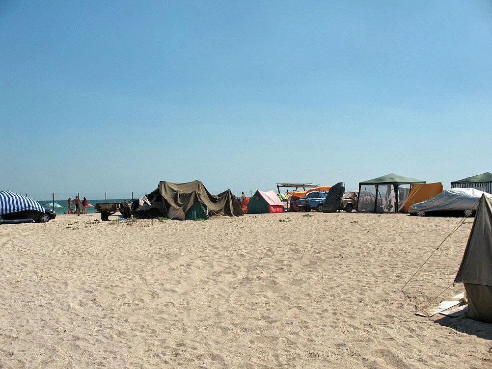 кемпинг азовское море россия фотоотчет затем поговорим местах
