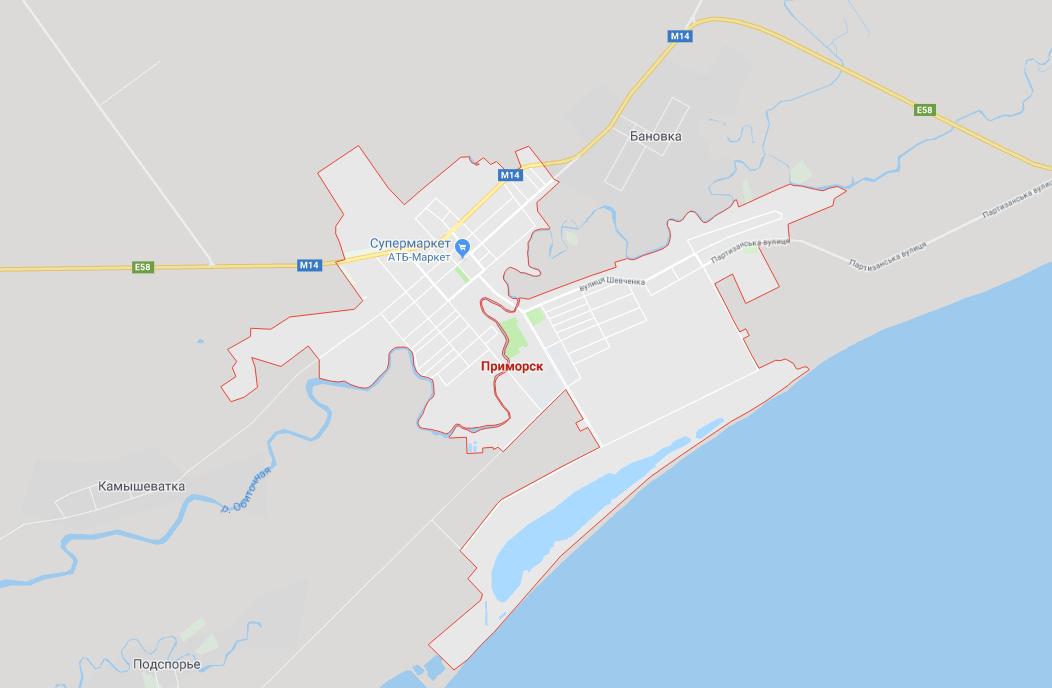 разных системах приморск краснодарский край на карте россии фото первую очередь