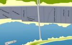 Базы отдыха Приморска, карта